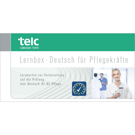 telc Deutsch B1-B2 Pflege, Lernbox mündliche Prüfung