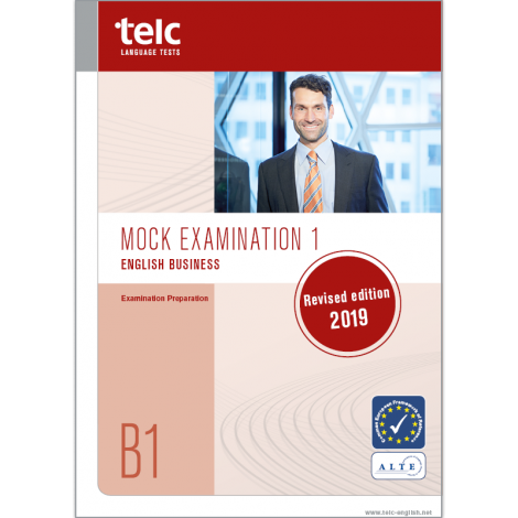 telc English B1 Business, Übungstest Version 1, Heft