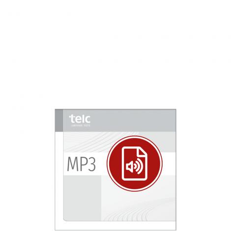 Audio-CD, Übungstest 1, telc Deutsch B2 C1 Medizin Fachsprachprüfung