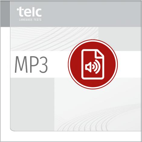 telc Español A1, Übungstest Version 1, MP3 Audio-Datei