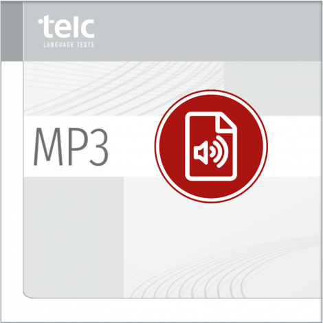 telc Deutsch A1 für Zuwanderer, Übungstest Version 2, MP3 Audio-Datei