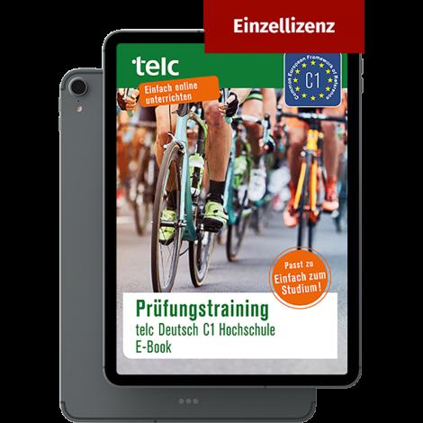Prüfungstraining telc Deutsch C1 Hochschule E-Book Einzellizenz